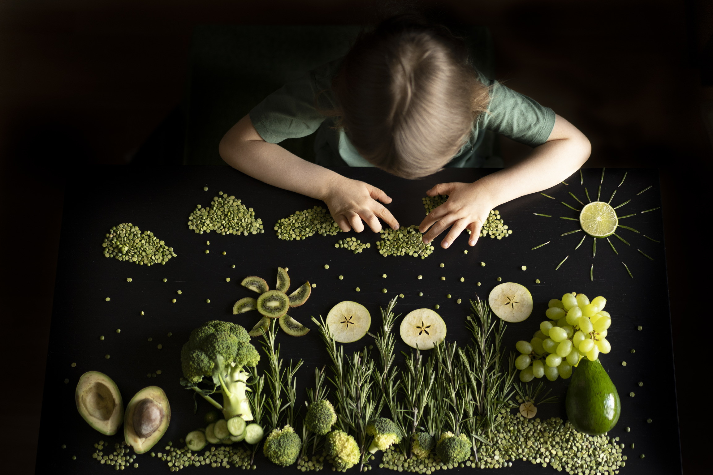 Зелёная еда, зелёный мир